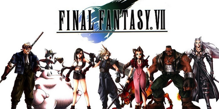 final-fantasy-7-logo-and-characters